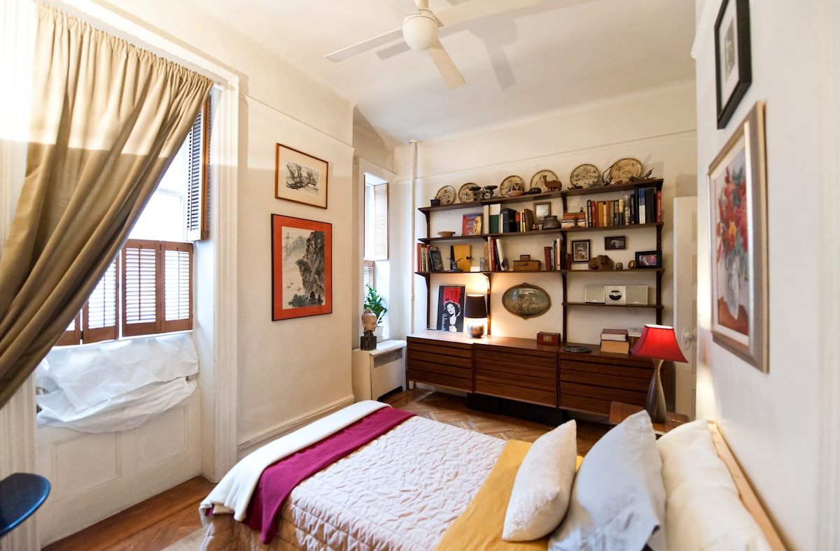 Great location, nice size bedroom