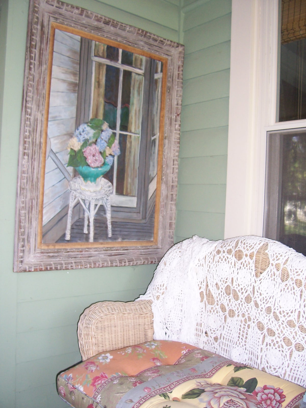 Screened in Front porch