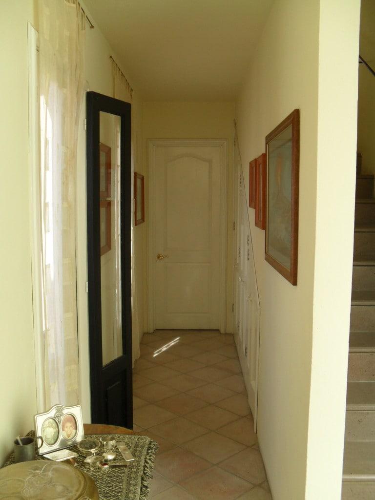 hallway leading to your bedroom