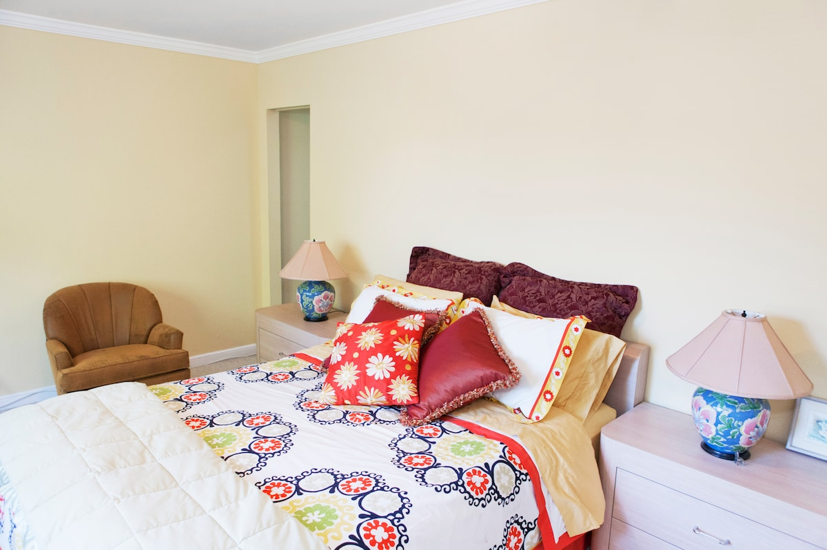 Large Bright Master Bedroom