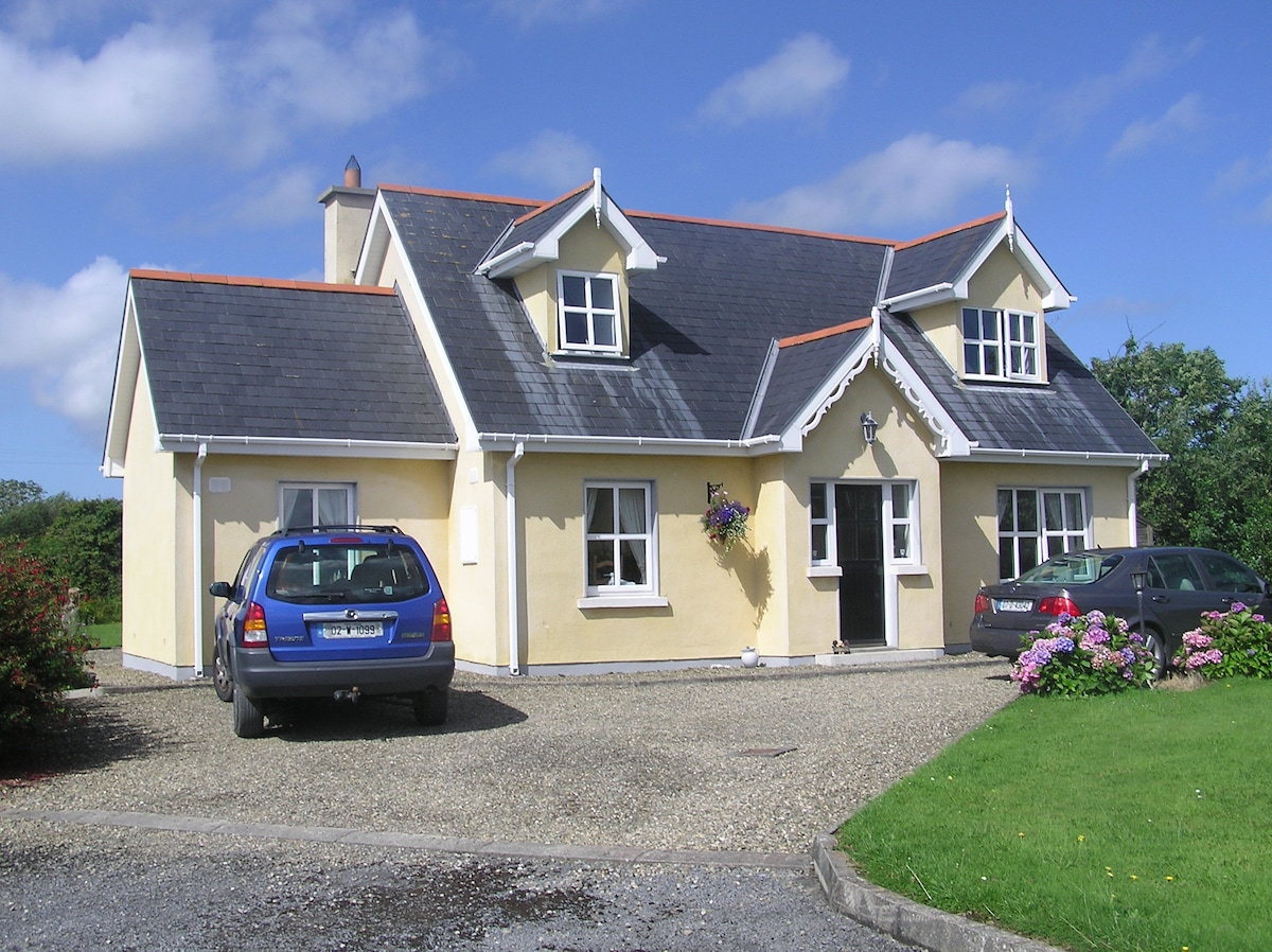 Large detached Cottage with South Westerly facing patio and large garden