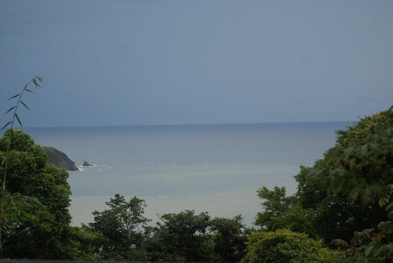 Oceanview from our Pacific terrace