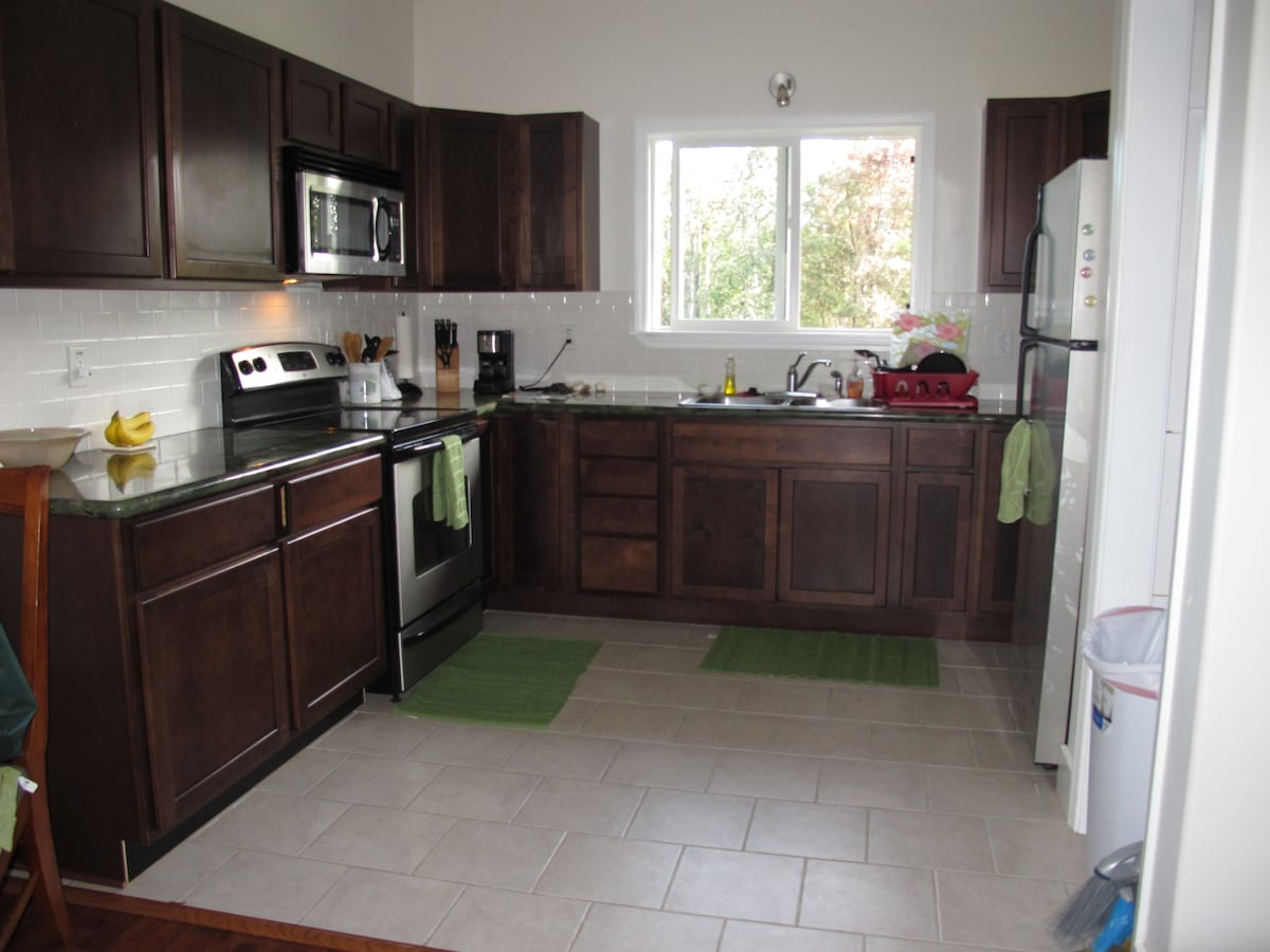 Kitchen in 2 bedroom house
