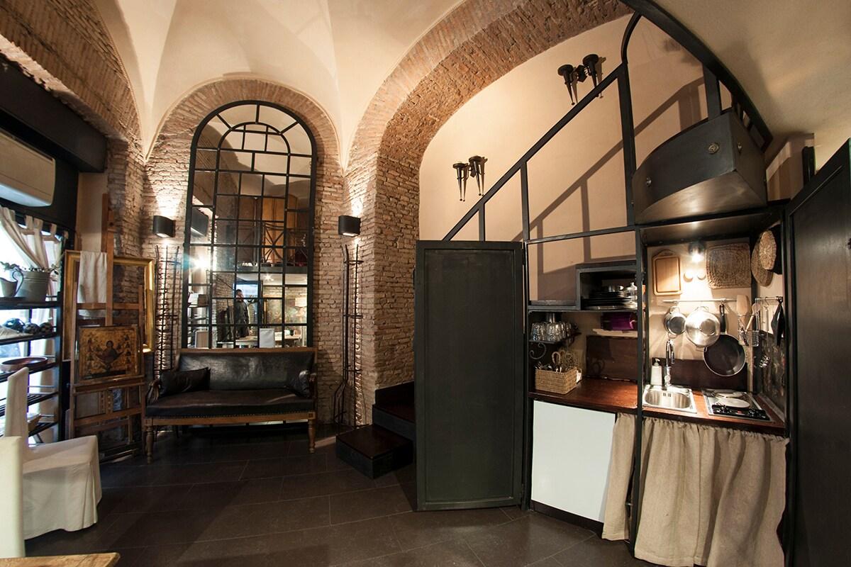 loft in the center of Rome