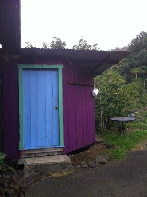 Coffee shack exterior