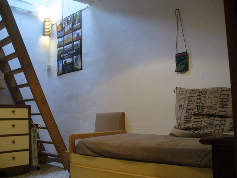 guest room, passing attic and bathroom