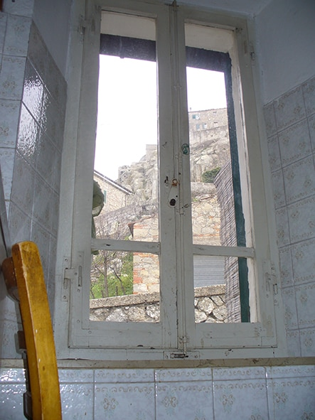 window to the rock