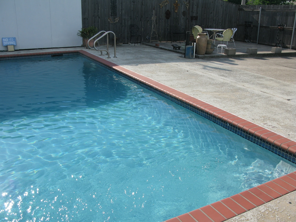 Pool Area, Alternate View