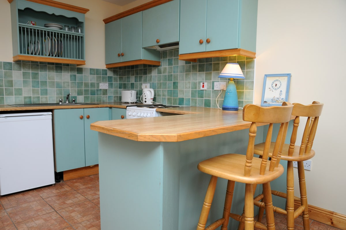 Fully equipped kitchenette!