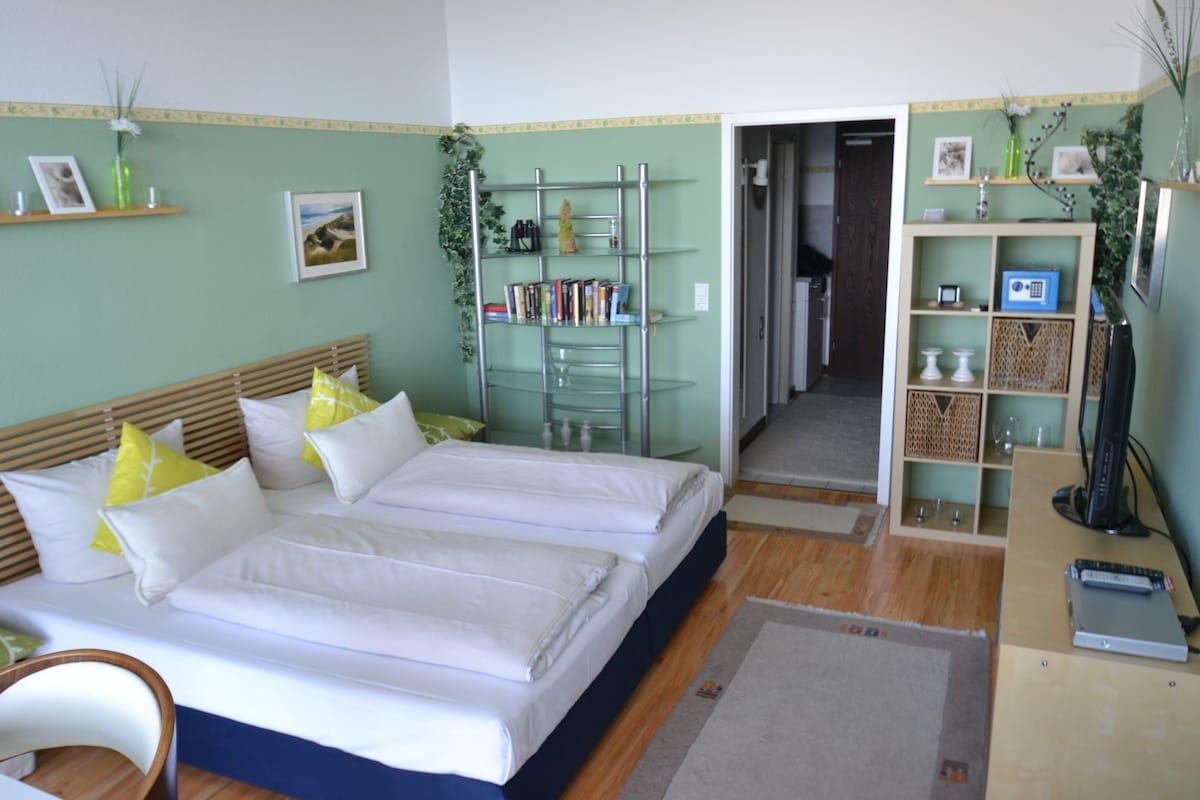 Modern eingerichtetes 1-Raum-Apartment