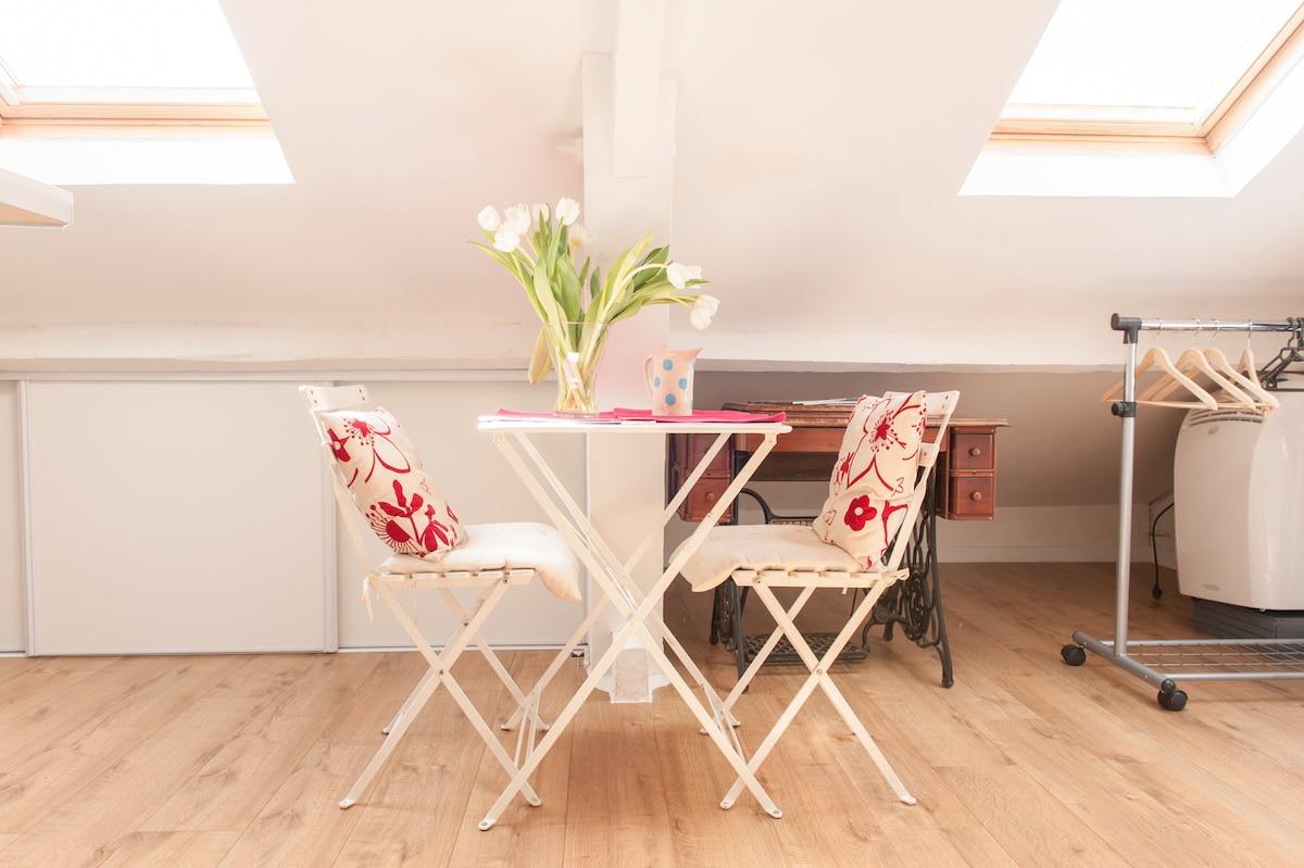 Charming studio center of Nice