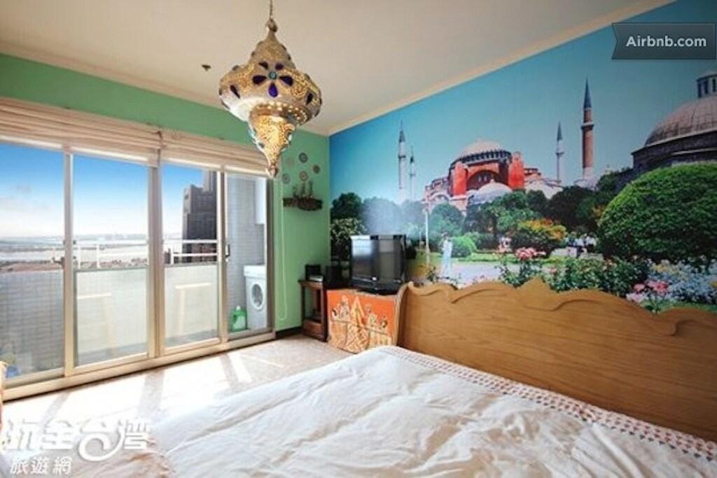高雄 Turkish-styled Sea View Double