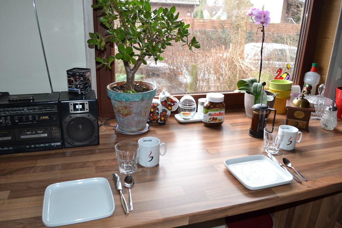 Gemütliches Zimmer in Hamburg Süd