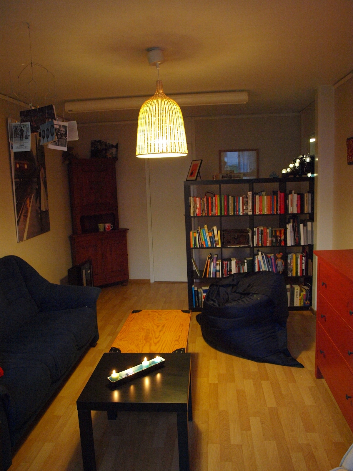 A large shared living space