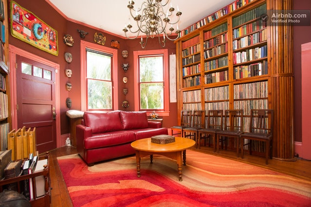 Parks-Bowman Mansion: The Library