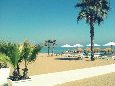 Borabora beach, a nice 200 mtr walk away.
