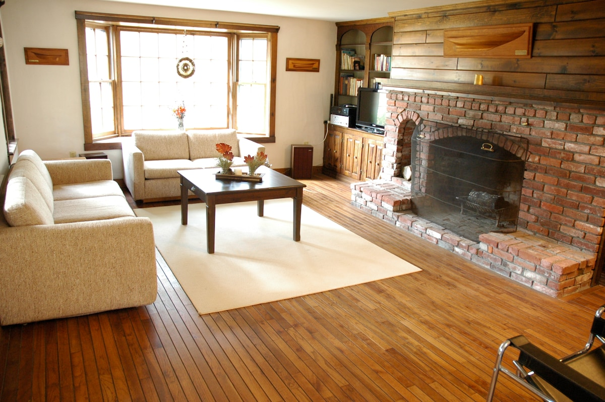 Big living room. A house hand crafted with love.