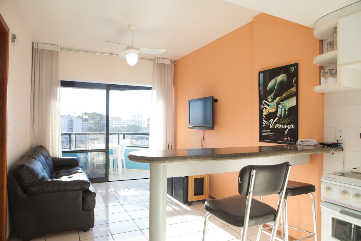 Upscale one bdrm apartment in Barra