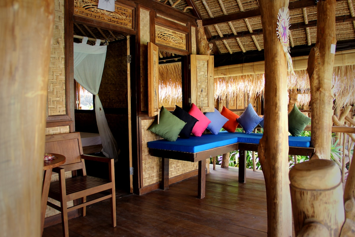 The Calmtree Bungalows, Double bed