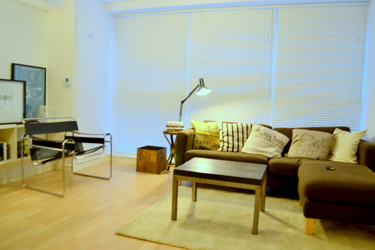 SOUTH BANK- London Bridge-1bed flat