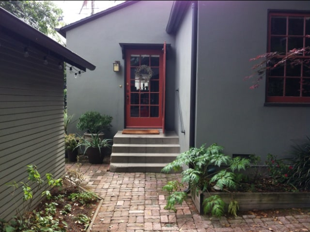 Entry to South Pasadena Cottage Retreat