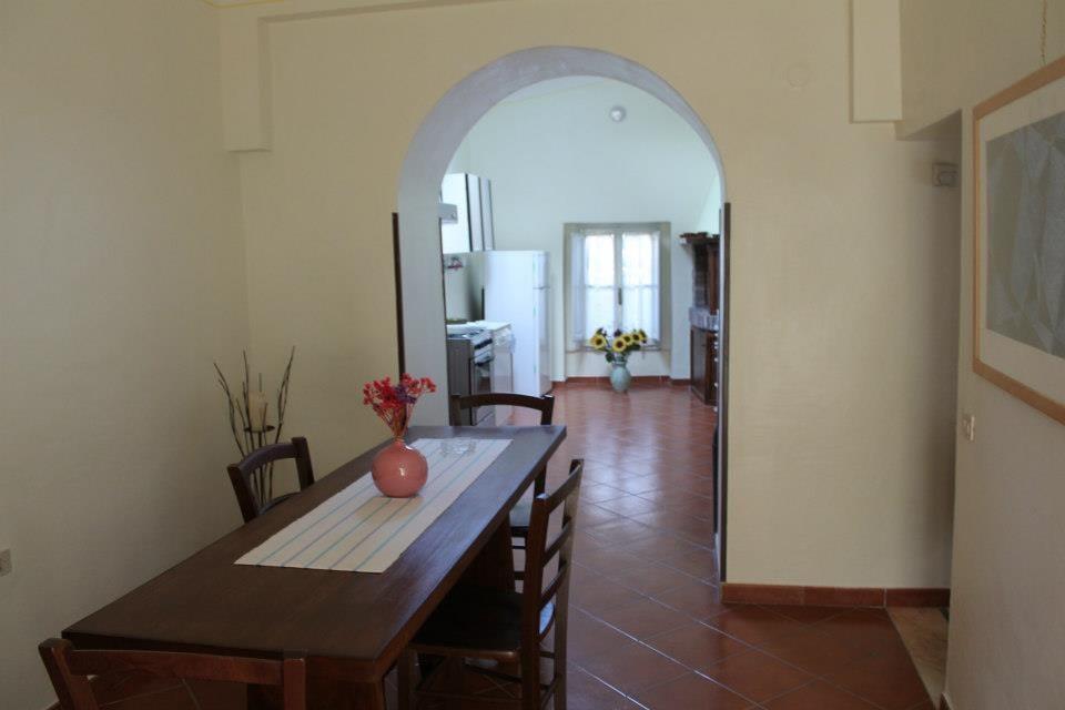 Cucina e soggiorno della GAH
