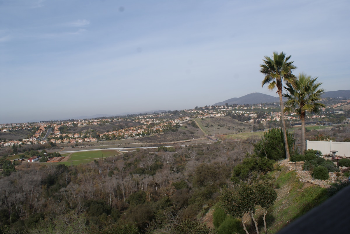 View of Penasquitos Canyon in San Diego from our backyard.