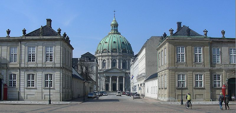 The Royal Castle and Marble Church is just around the corner