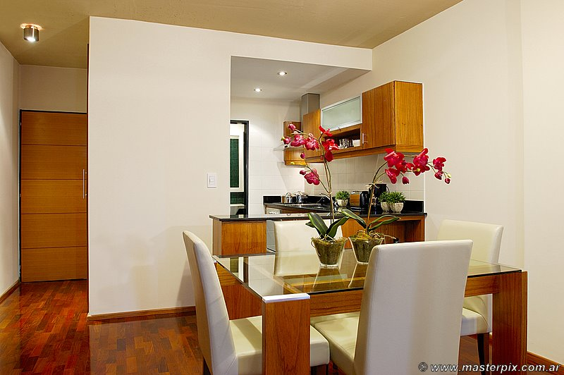 Dining area, kitchen and entrance hall