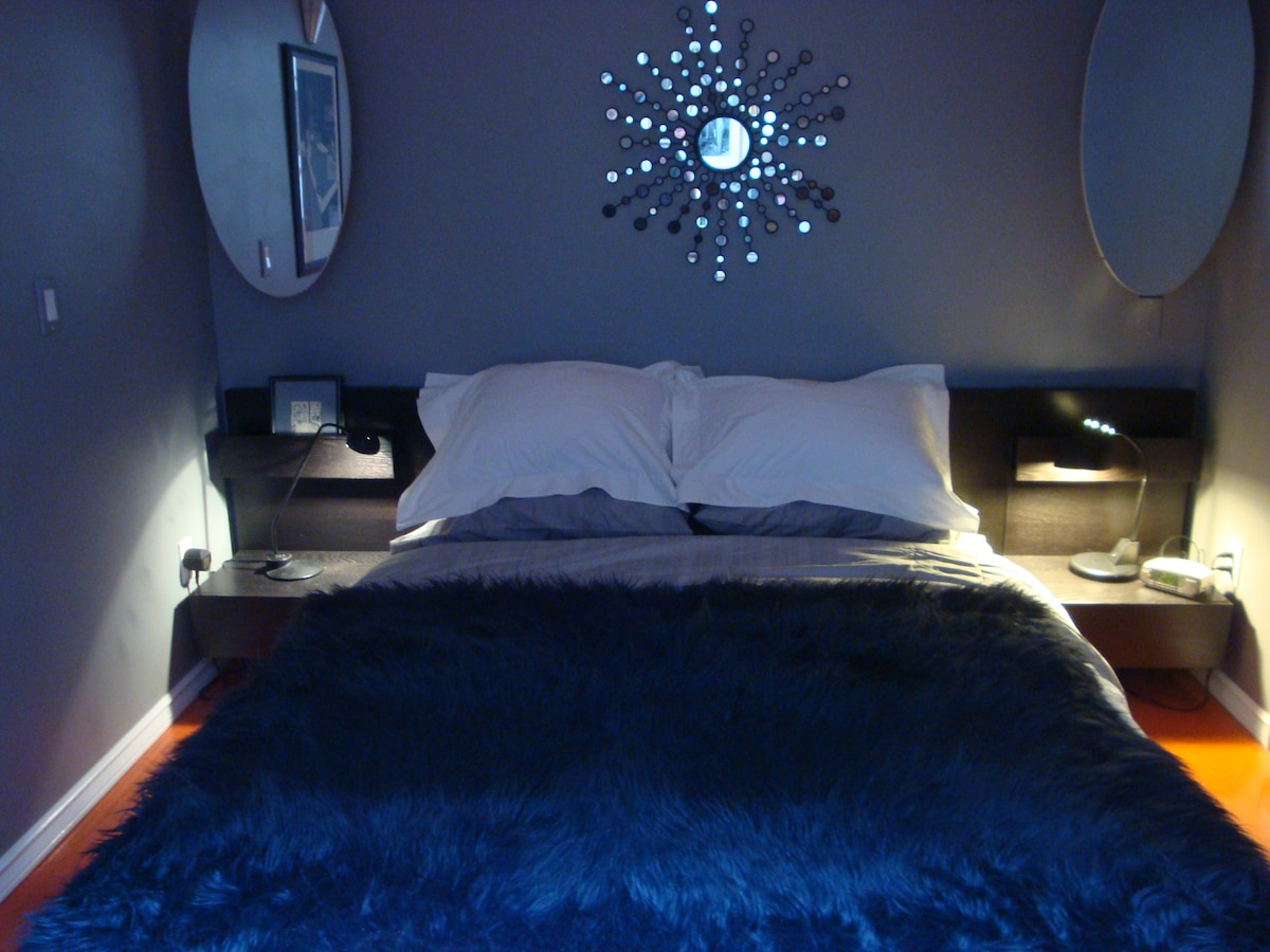 Cosy Bedroom with Queen size Bed
