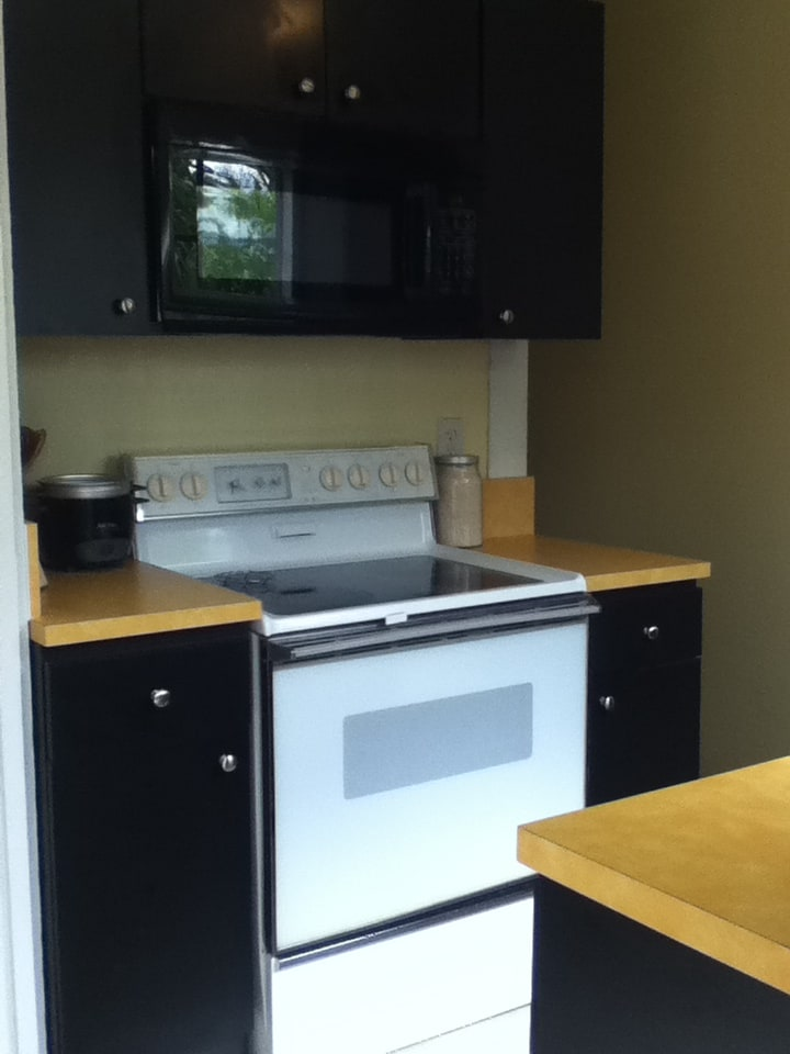 fully equipped kitchen at your disposal