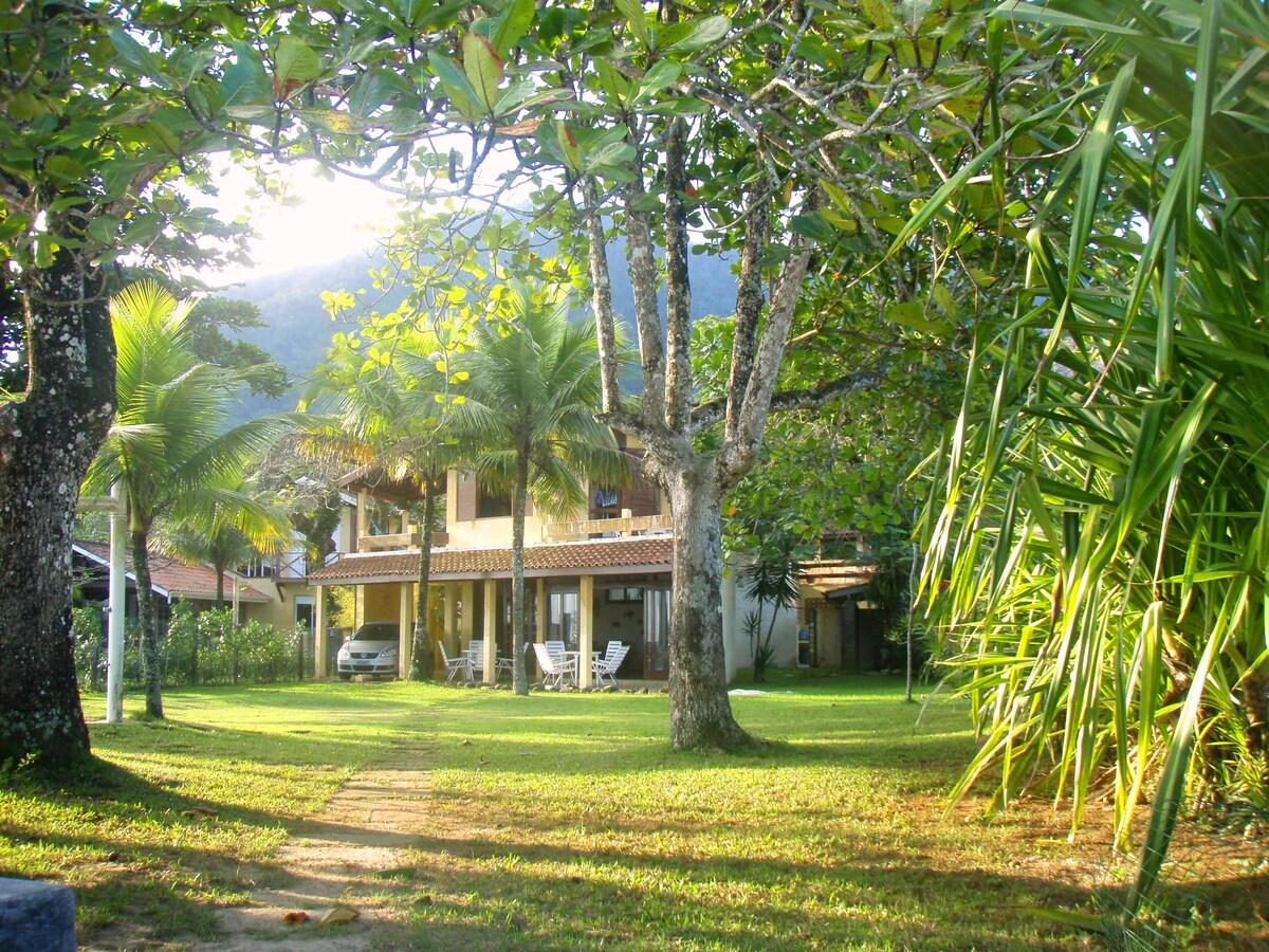 Wonderful beachfront property