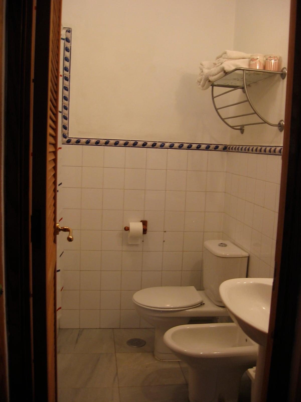 en suite bathroom first floor
