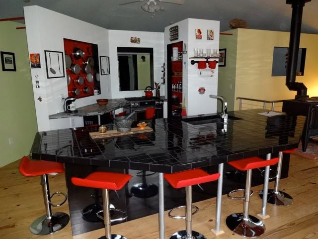 The heart of a home - a kitchen demanding to entertain!