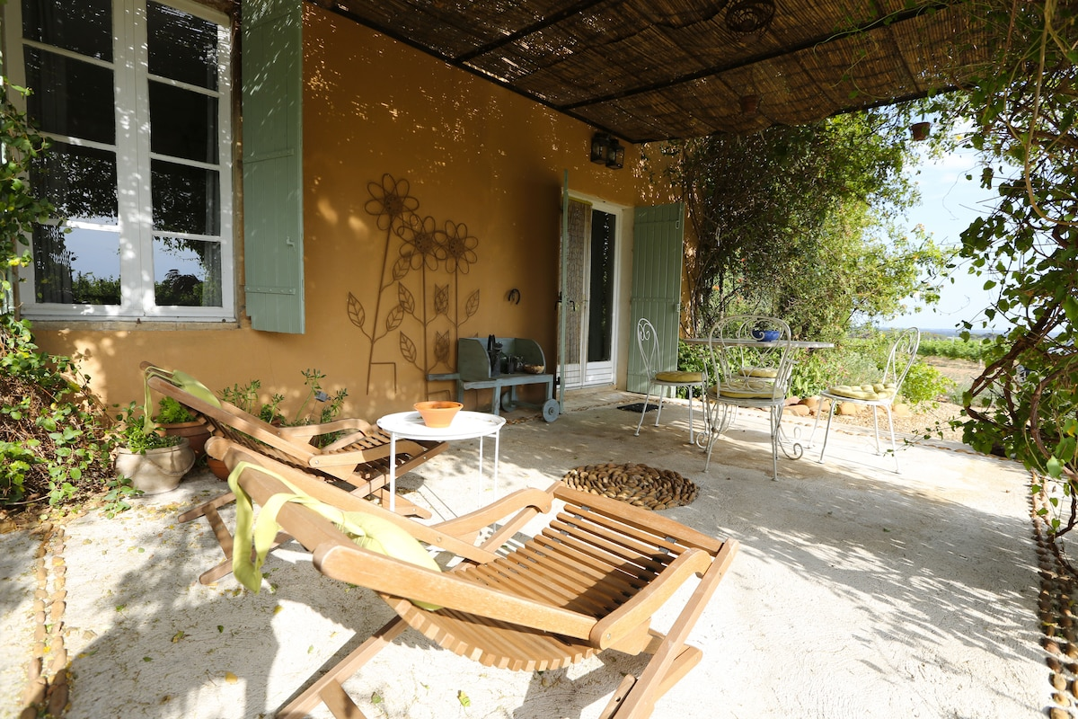La terrasse privée du Nielluccio