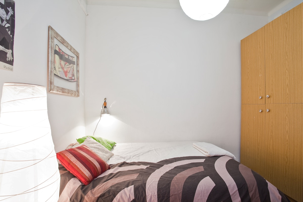 Double room in old fashion flat