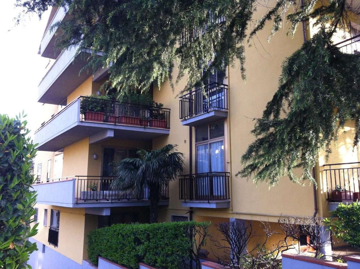 Main entrance of the condominium.