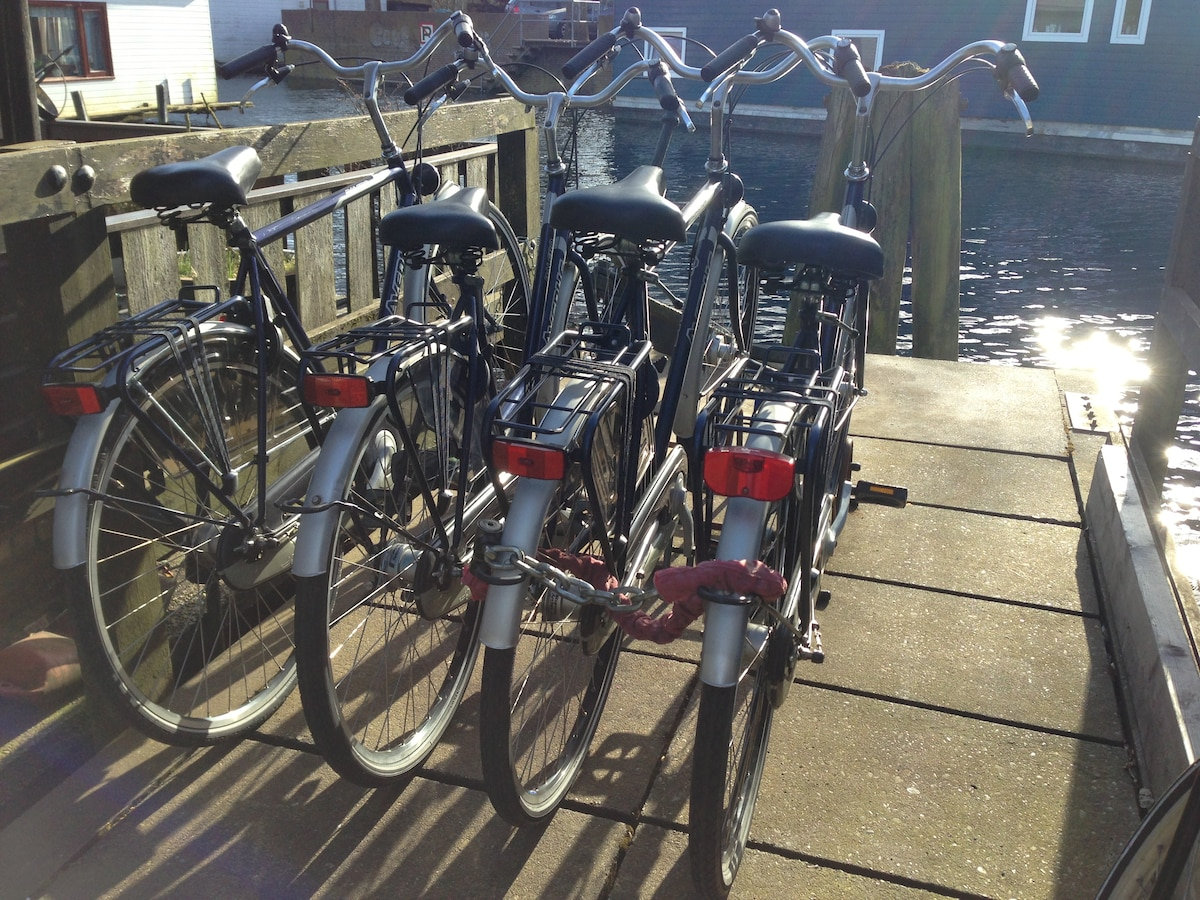 4 Great bikes with 3 speed gear and handbrakes are included in the price
