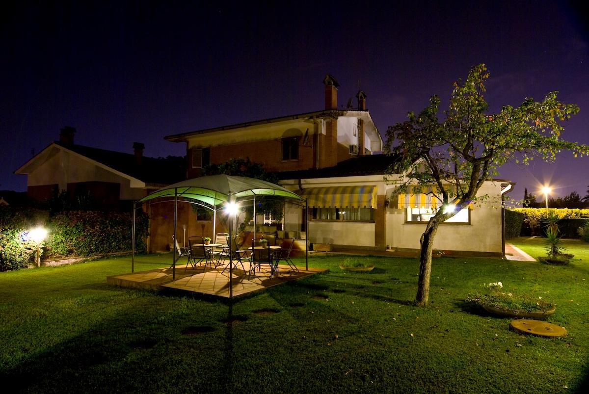 Villa Roma 20 min Termini e Centro