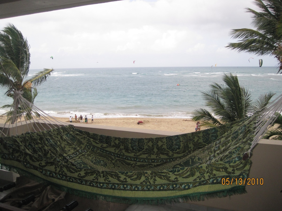 From your terrace to view the beach