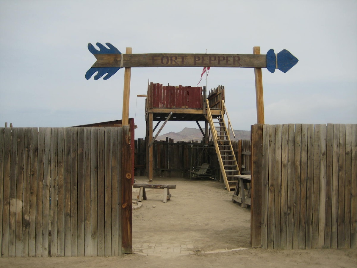 Fort Pepper at the Blue Palm Ranch