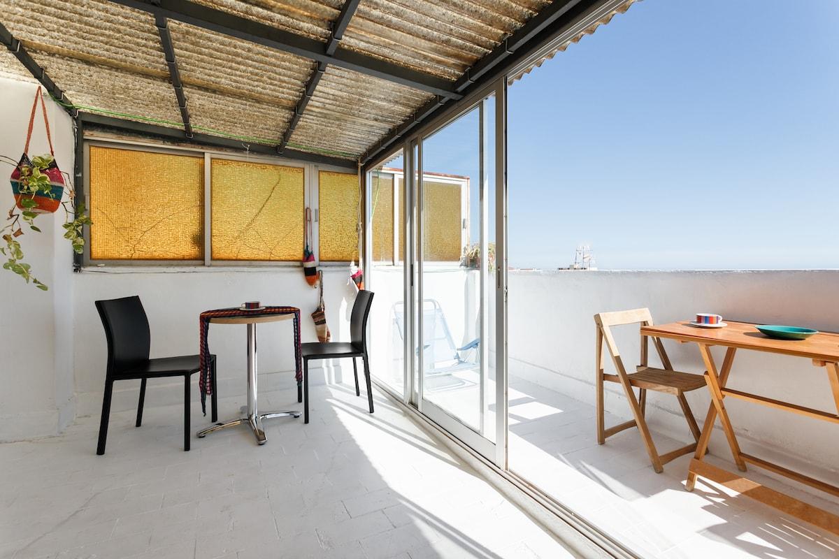 Atico para vacaciones en Sitges