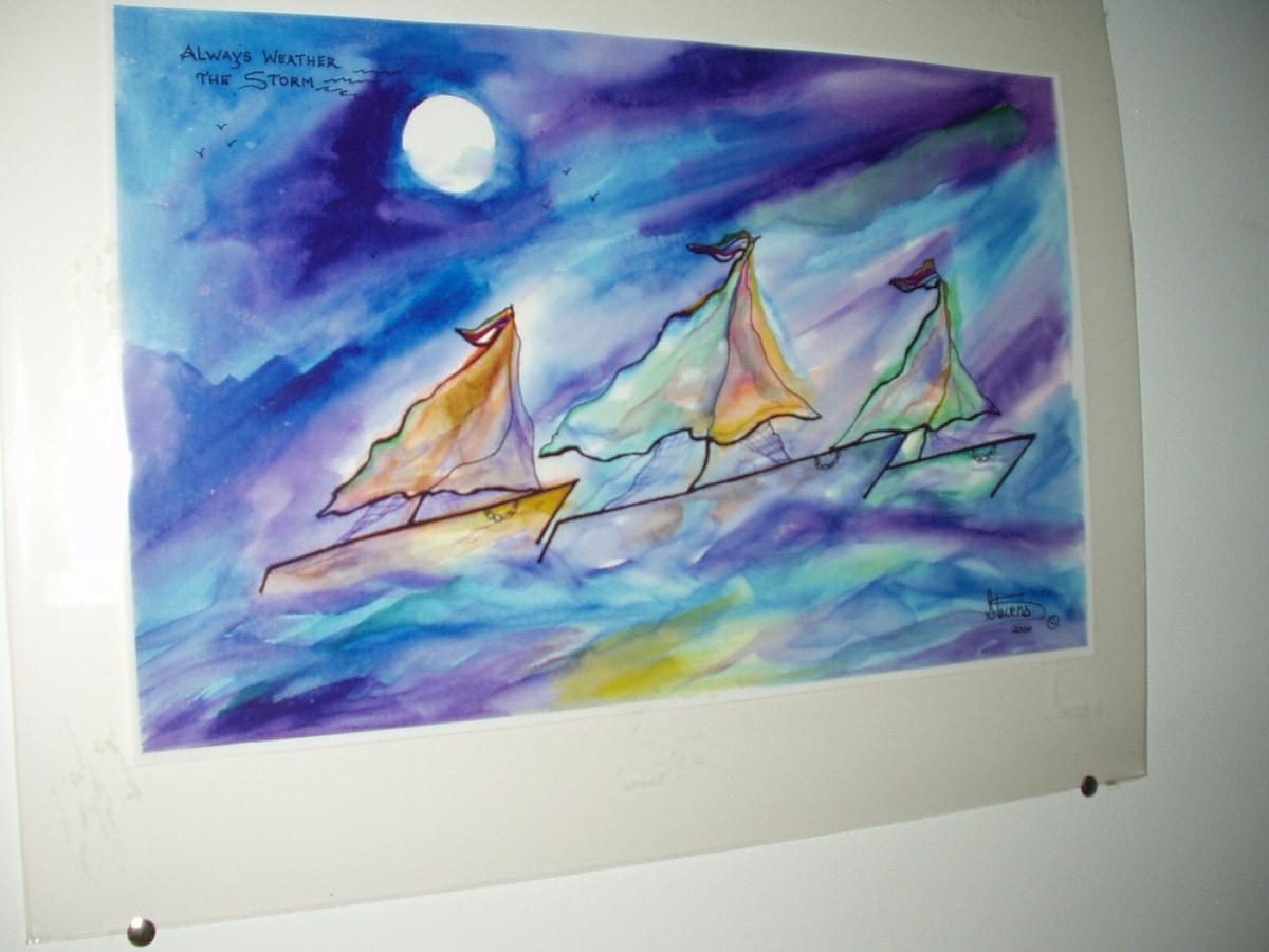 Local (Inner Harbor) artist's work I