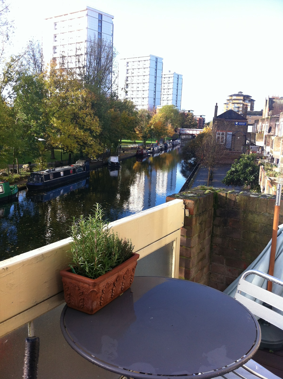 View over the canal.