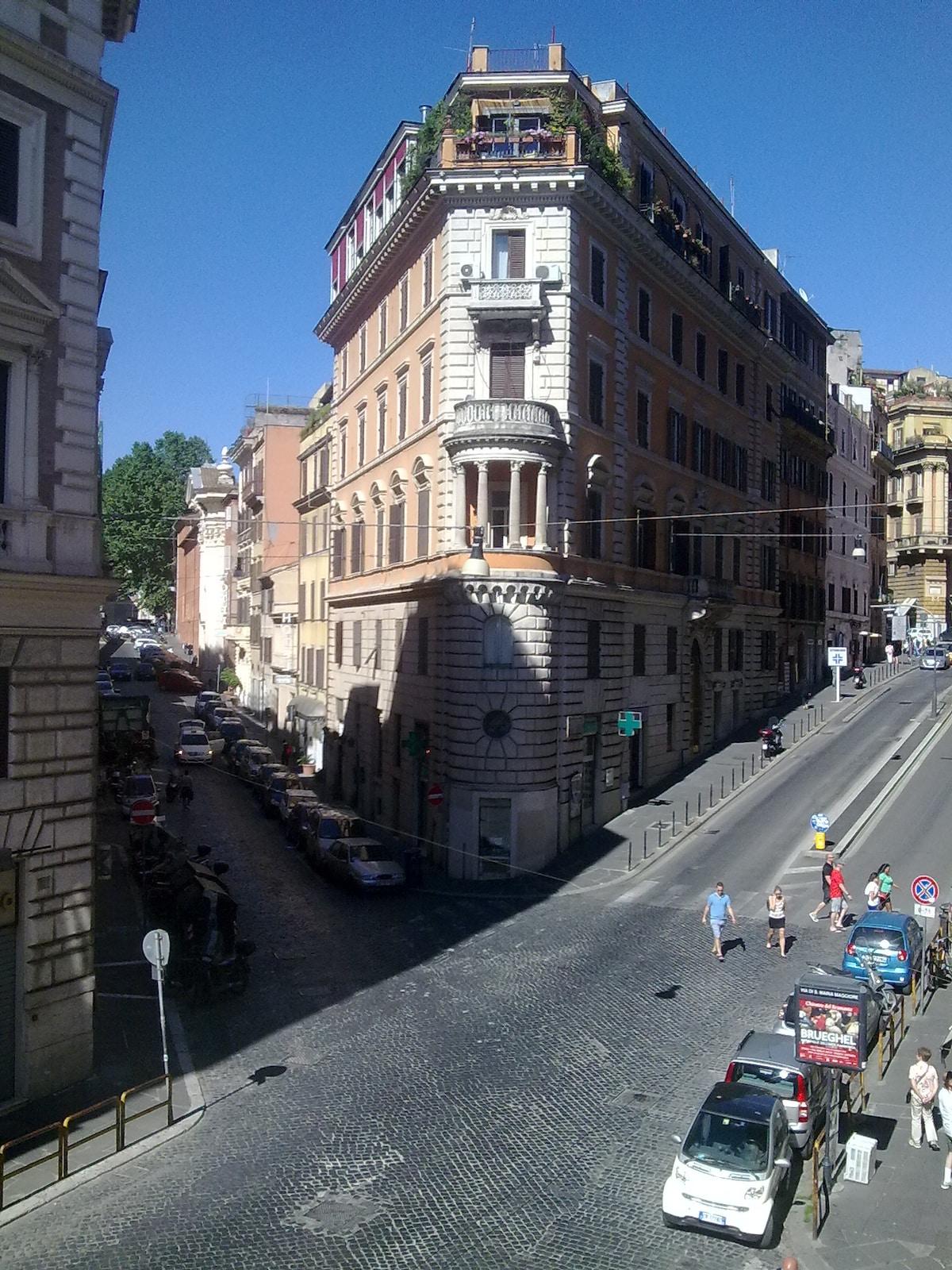 Luxury apartment in Via Panisperna