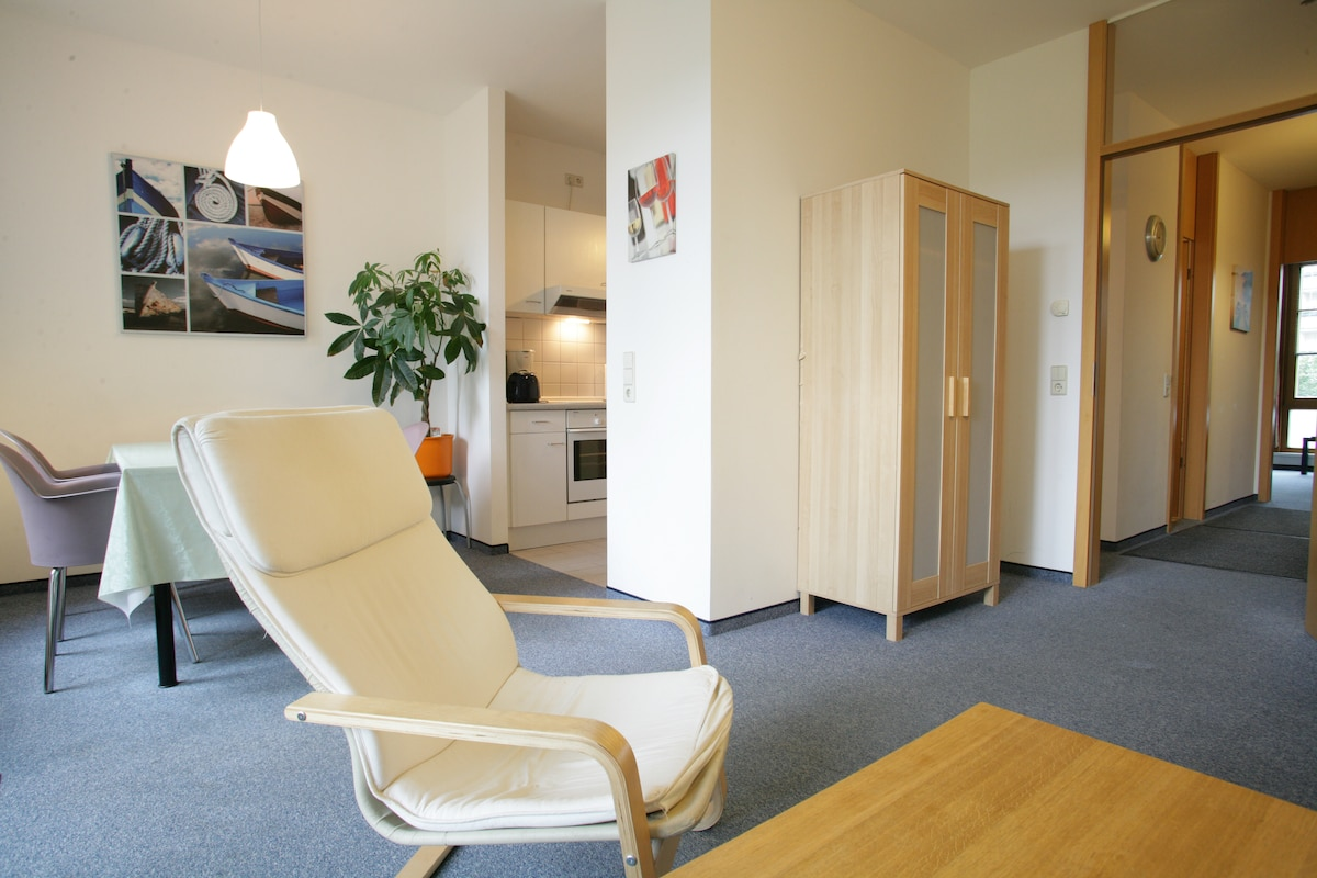 Central modern 2-room flat in Mitte