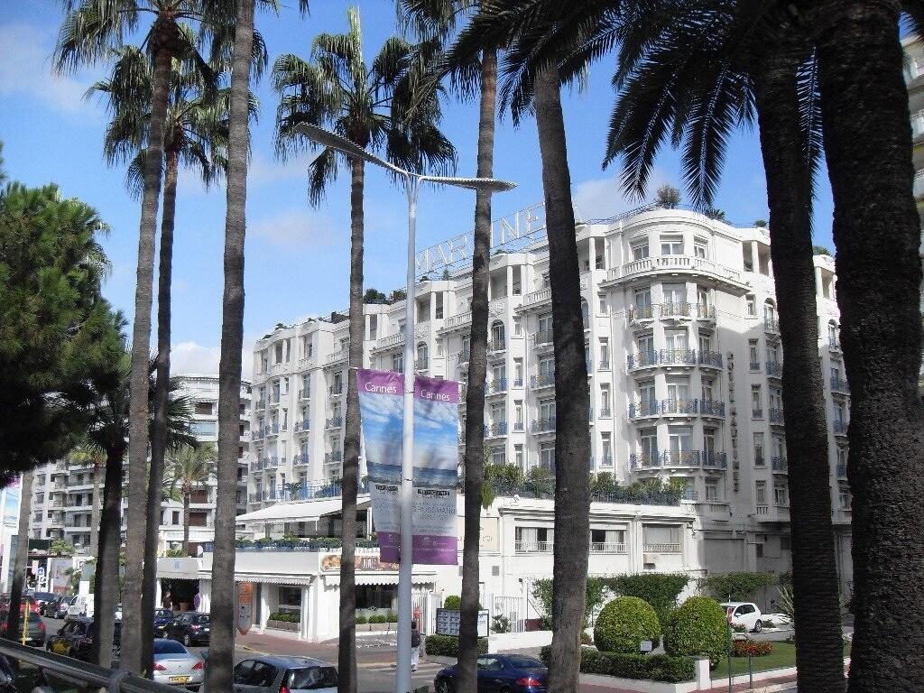 L'hôtel Martinez sur la croisette