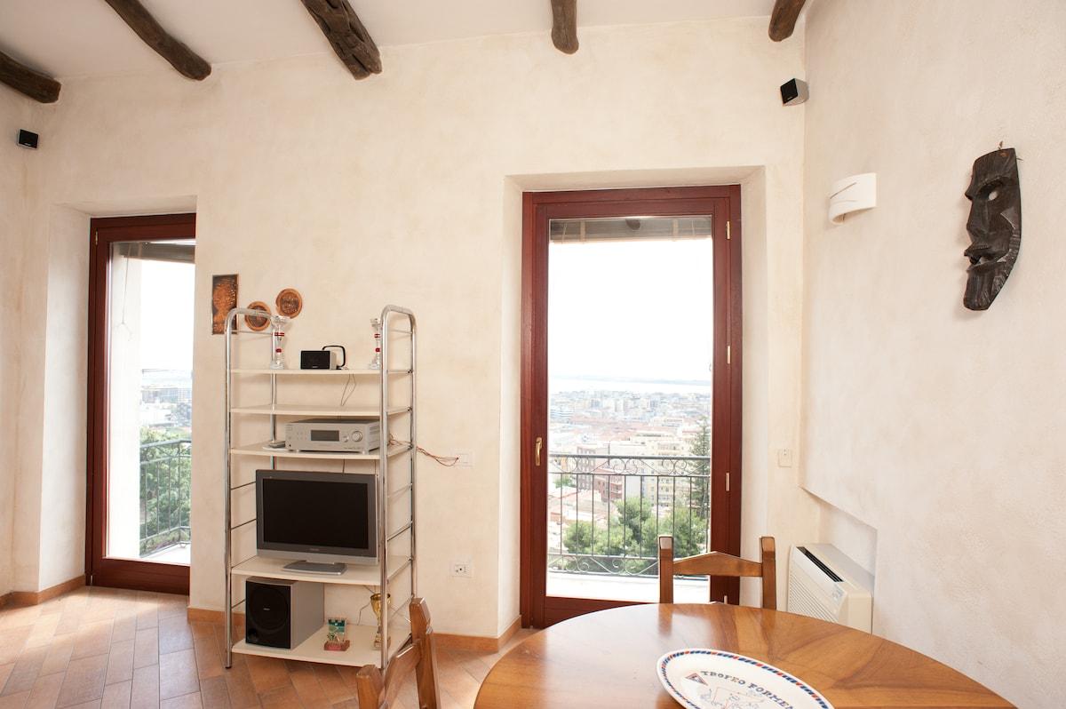 Panoramic apartment in Castello