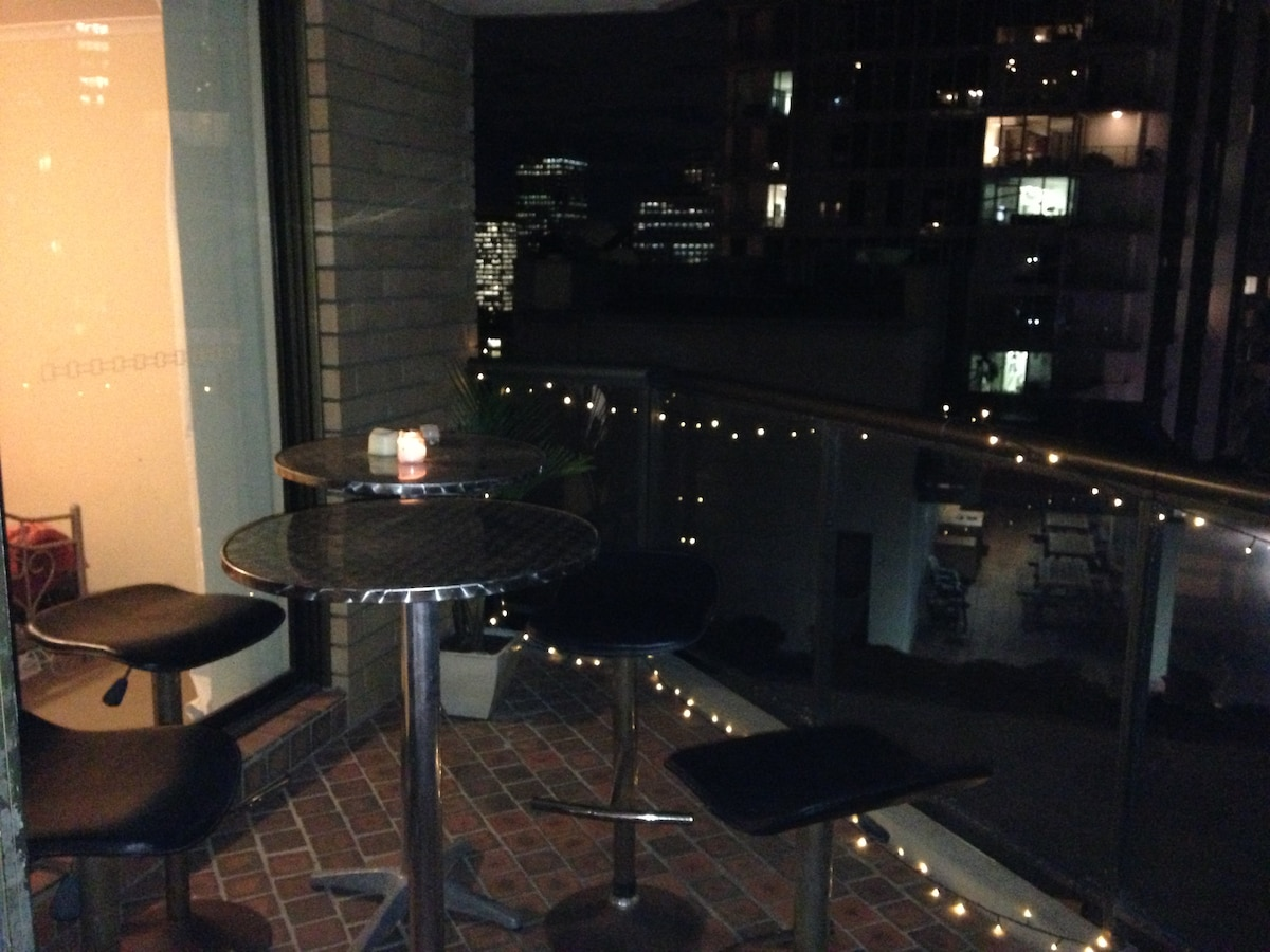 Balcony by night