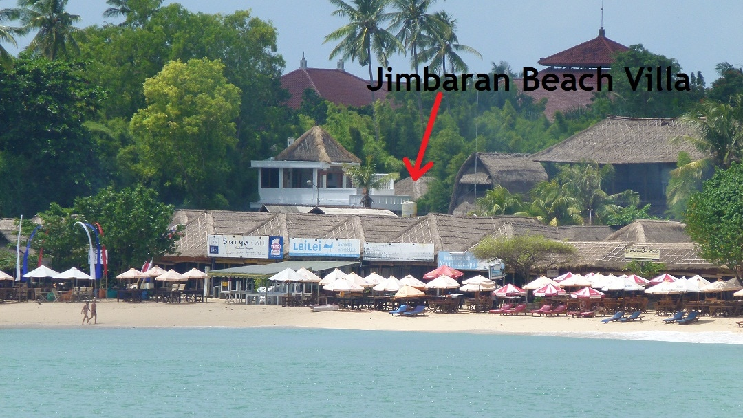 Just metres from the beach and famous Jimbaran seafood restaurants